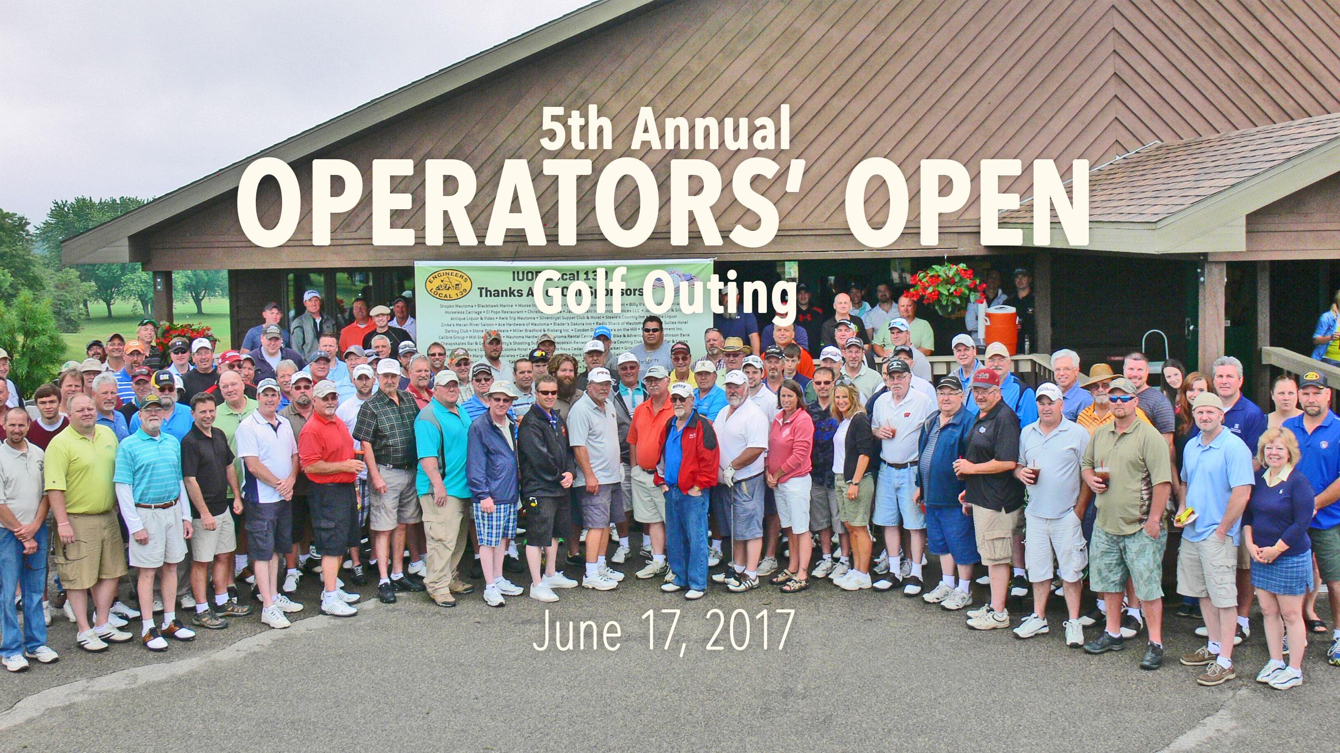 The Local 139 Operators' Open