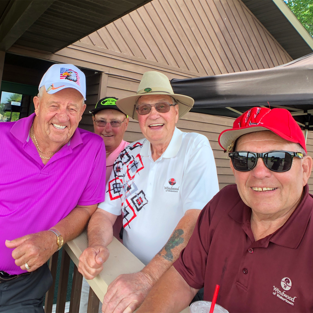 Attendees having fun at the Sixth Annual Local 139 Golf Outing.