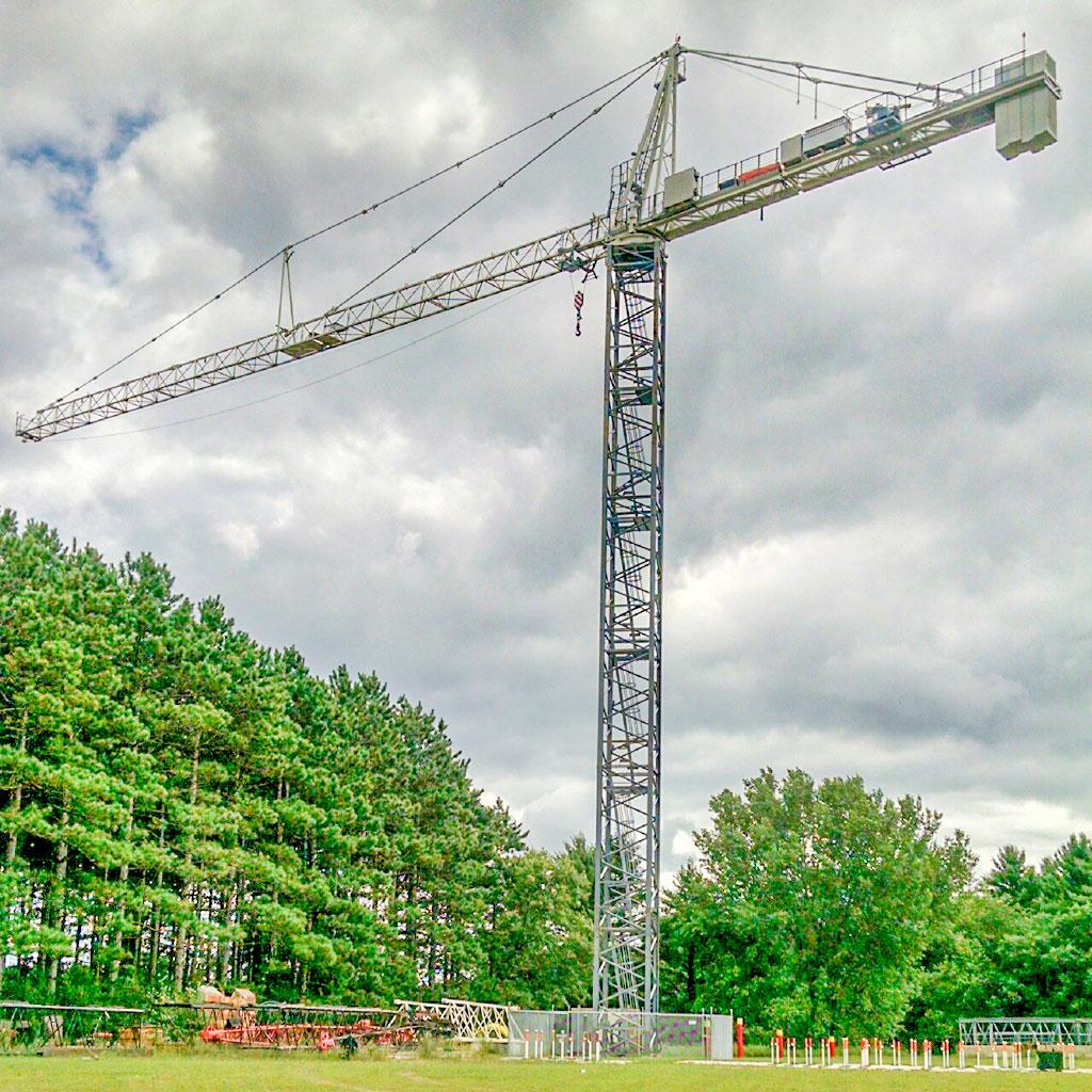Terex-Peiner SK 315 tower crane