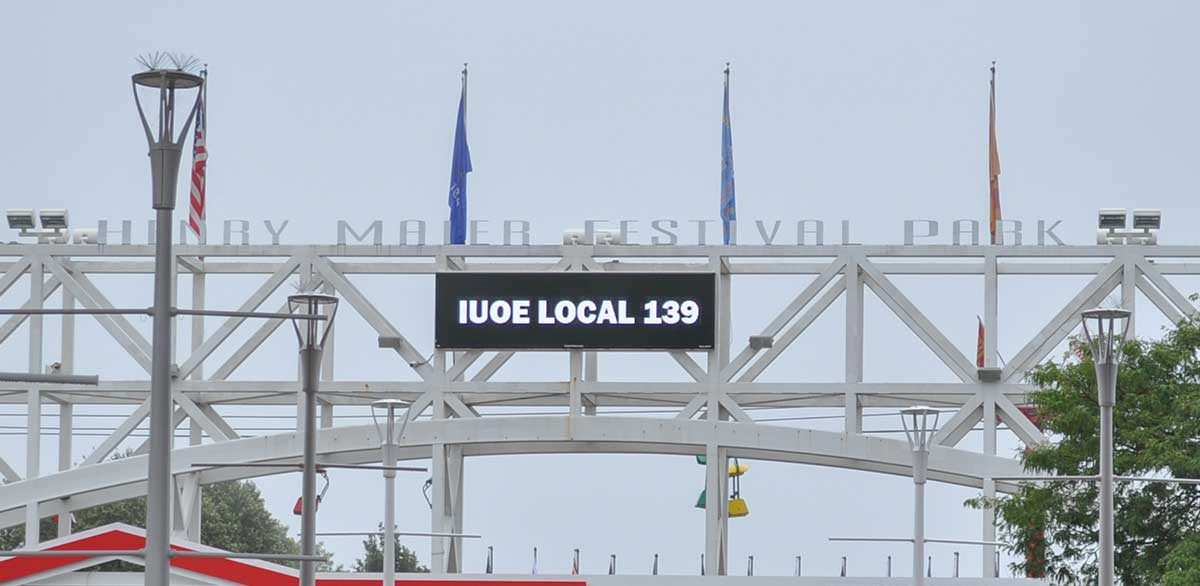 Laborfest Local 139 Sign