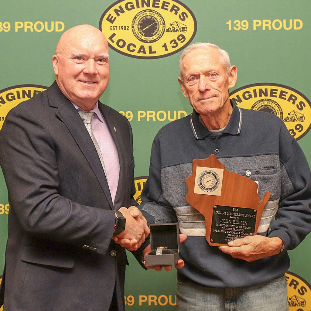50-Year member John Bellin