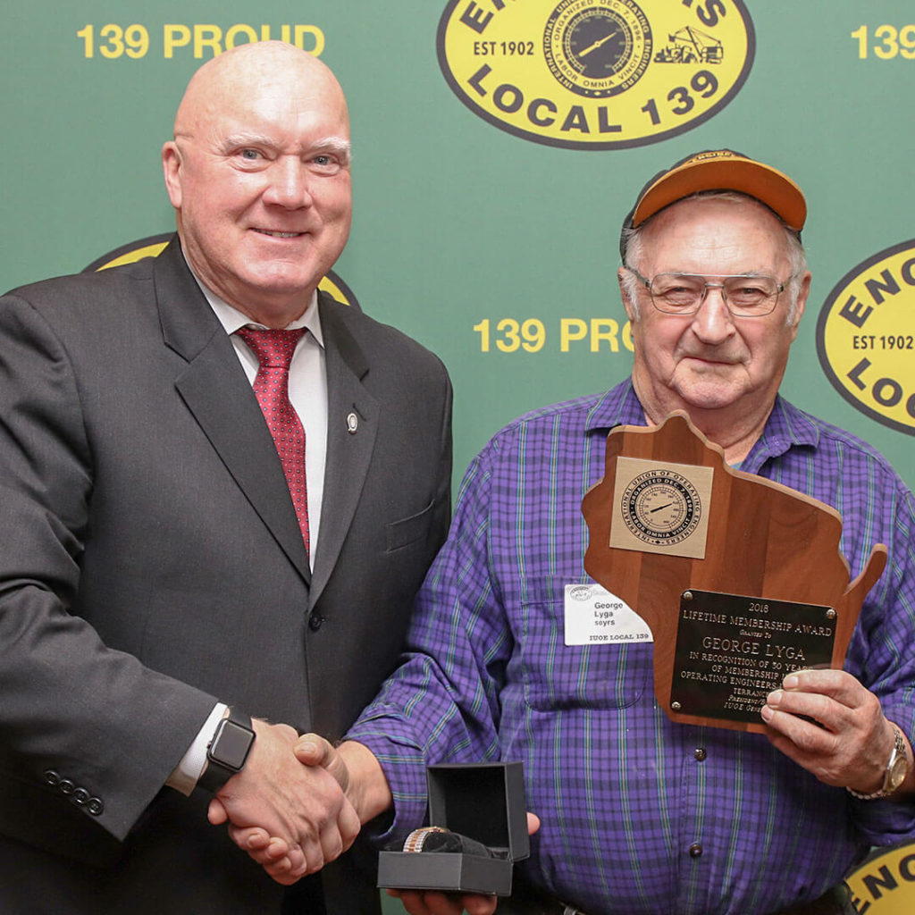 50-Year member George Lyga