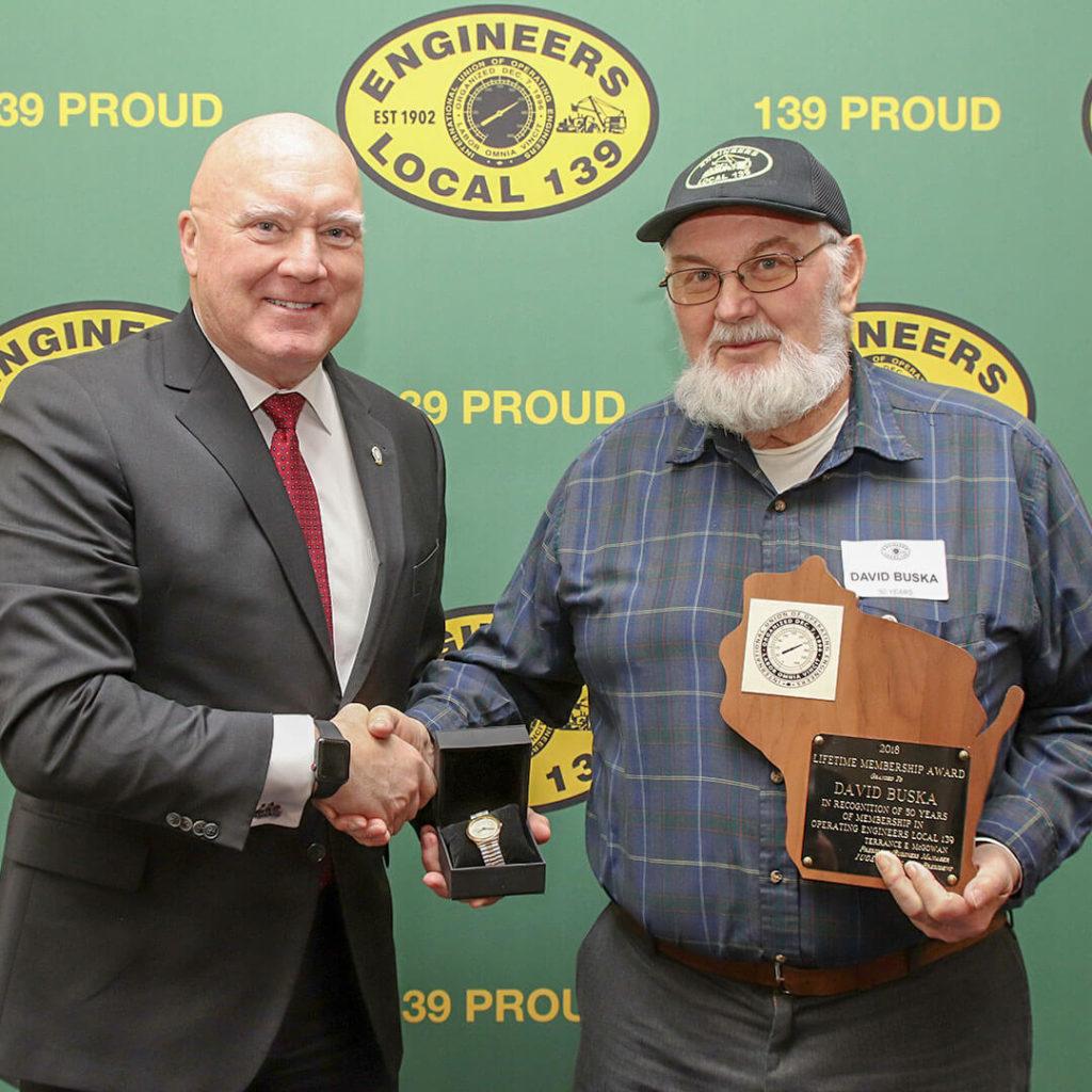 50-Year member David Buska