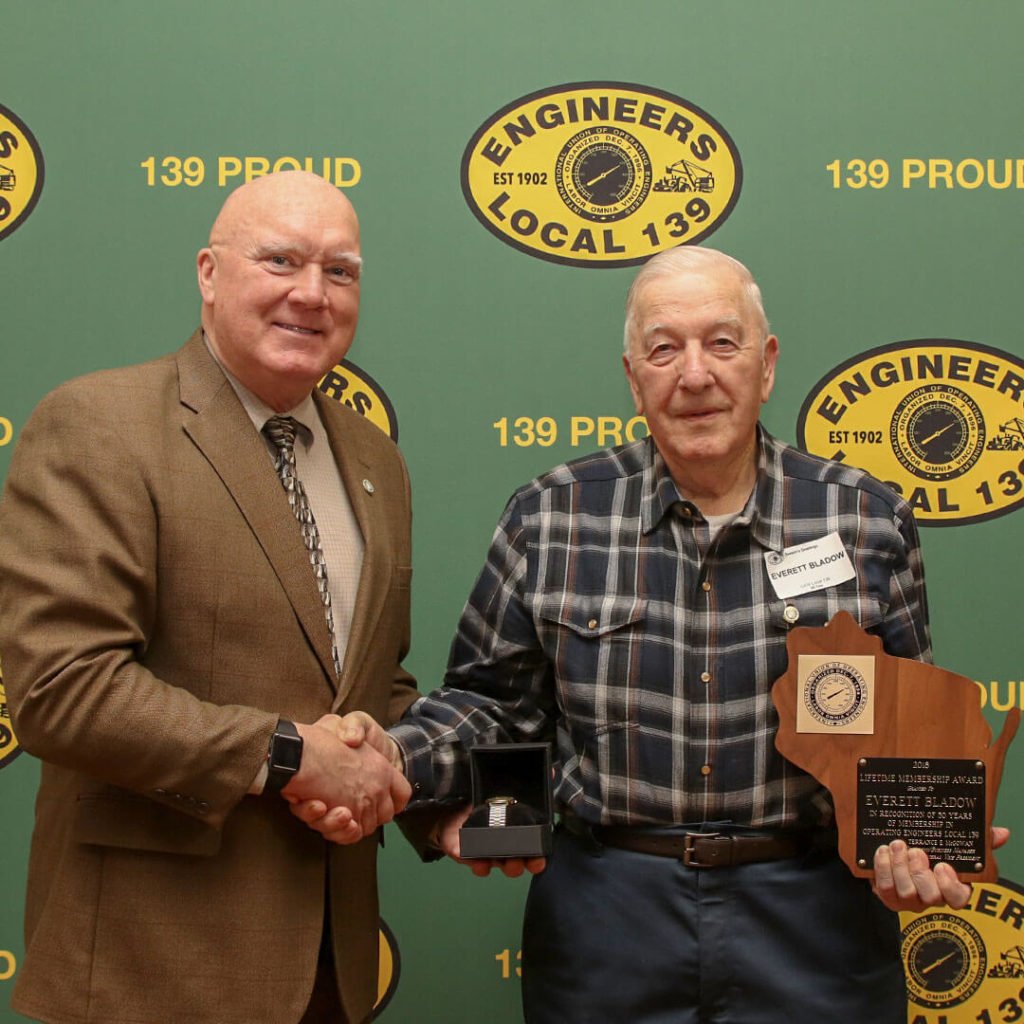 50-Year member Everett Bladow