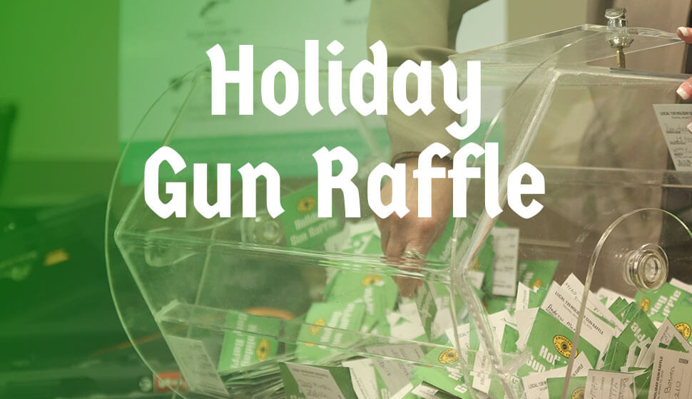 Holiday Gun Raffle Winners Announced