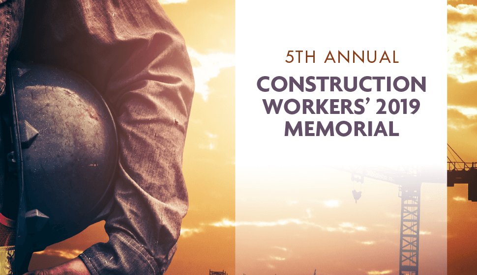 Fifth Annual Construction Workers' Memorial