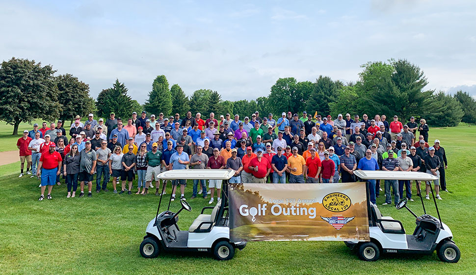 Annual Local 139 Golf Outing