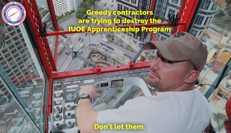 Save IUOE Apprenticeships