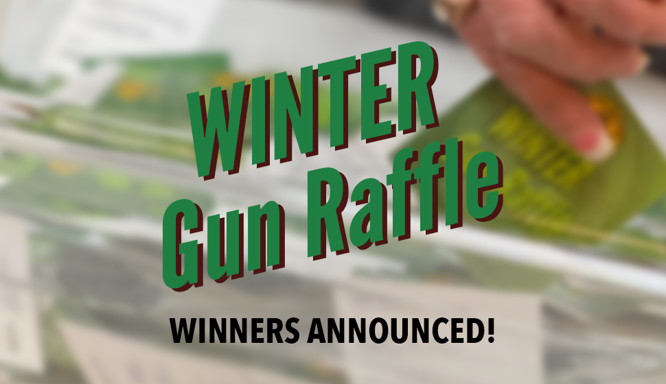 2020 Winter Gun Raffle winners announced