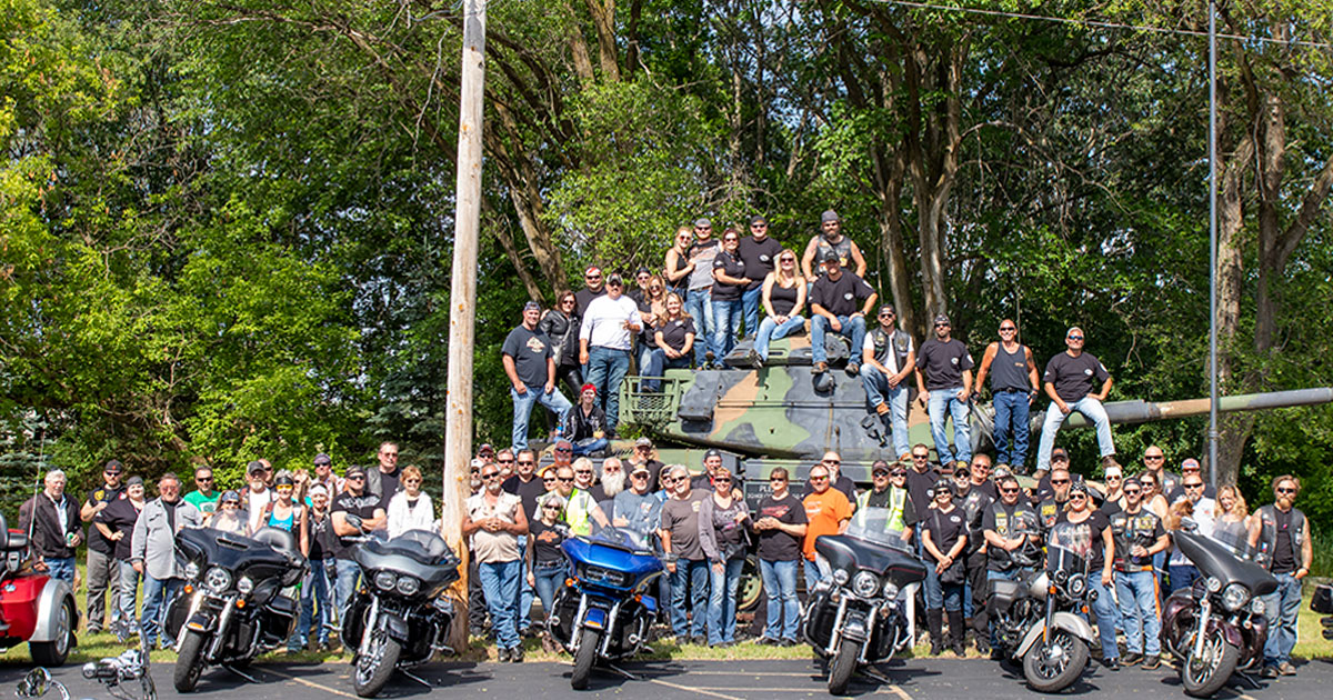 Local 139 Poker Run 2019 Group Photo