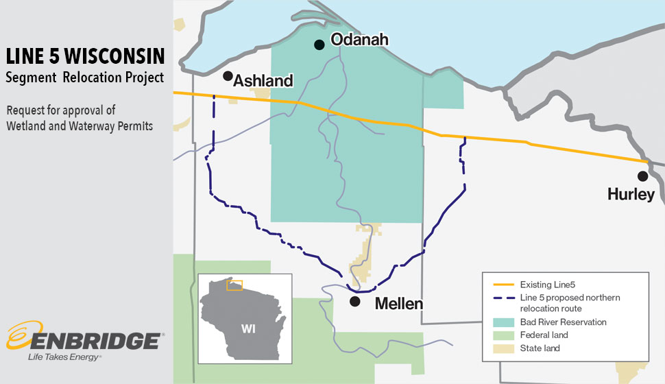 Enbridge Line 5 Wisconsin Segment Relocation Project