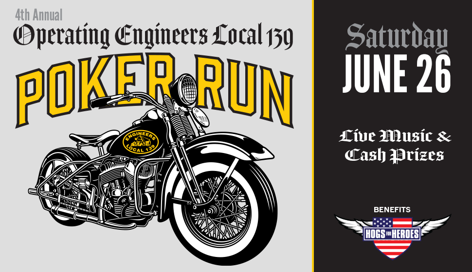 4th Annual Local 139 Poker Run
