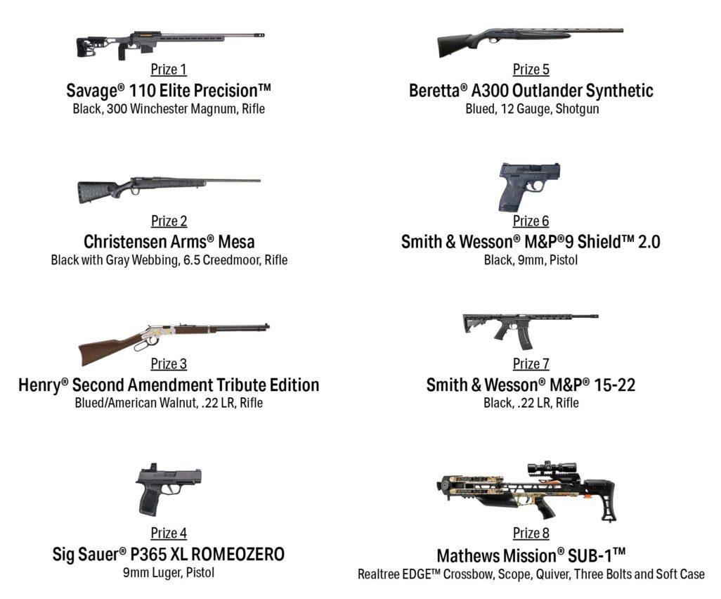 2022 Holiday Gun Raffle